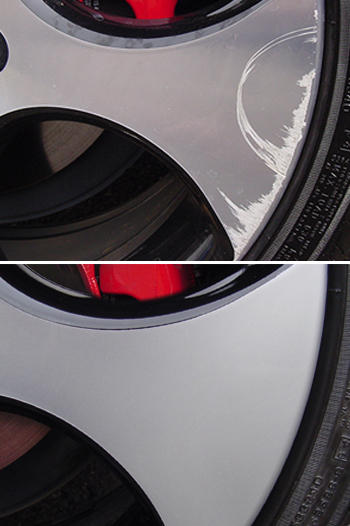 alloy wheel refinishing